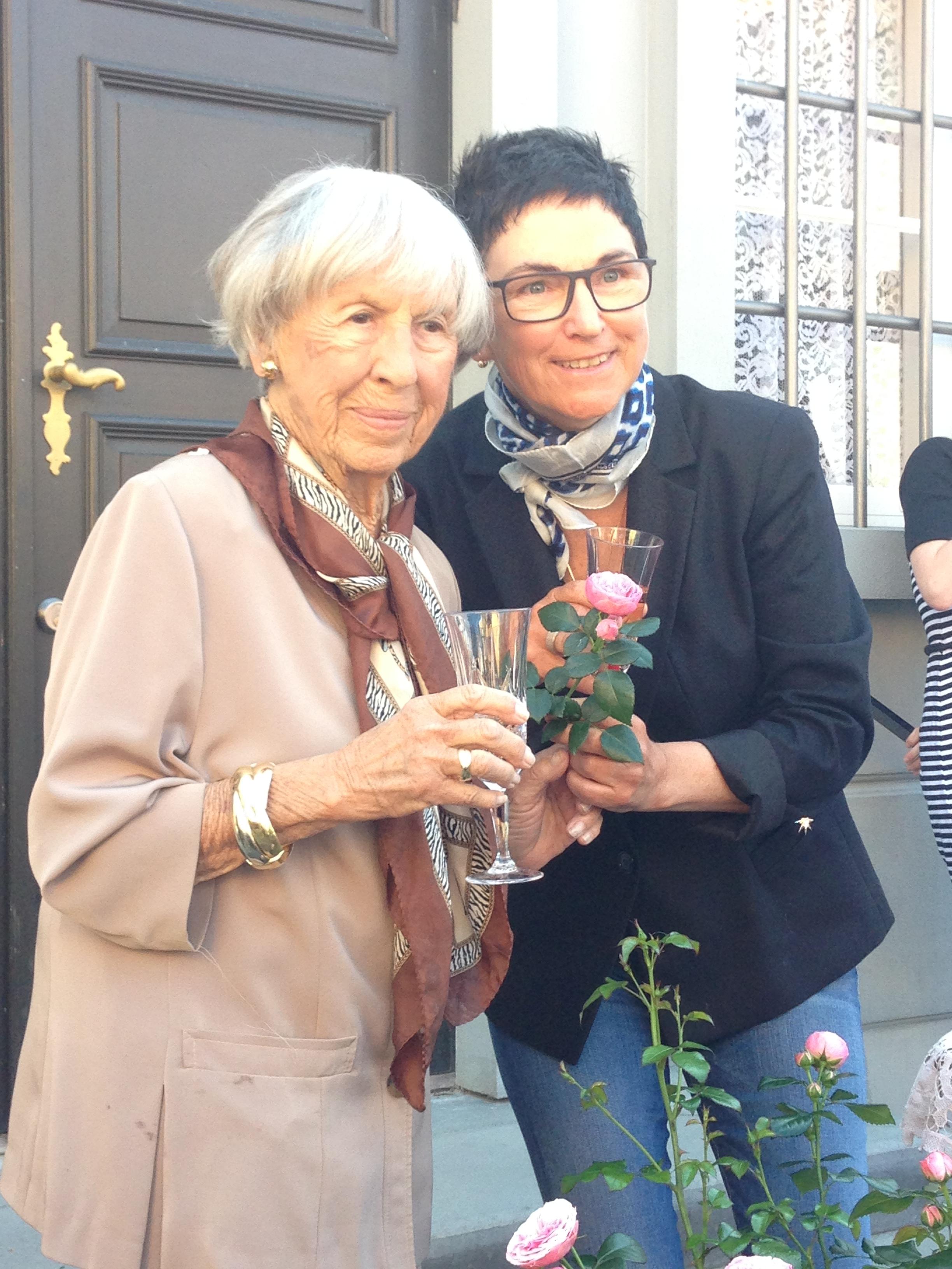 Lise Nørgaard and Rosa Eskelund