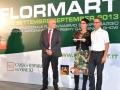 Flormart, Padova, Italy 2013 - 1st prize Flormagazine