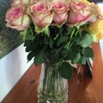 Tender in vase